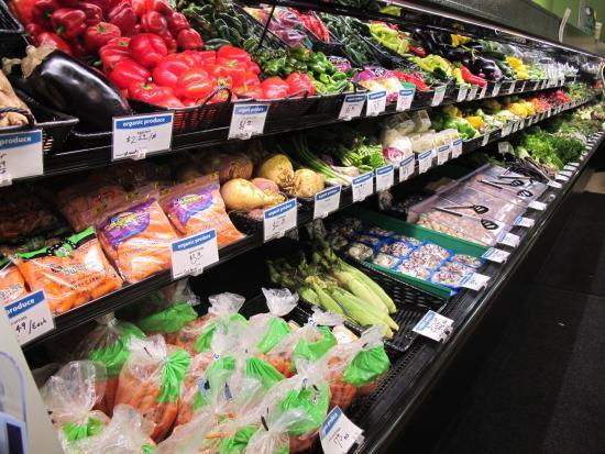 Marquette, Μίσιγκαν: Produce