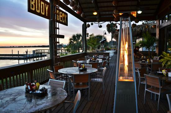 The buoy deck a waterfront dining experience picture of grills riverside seafood deck tiki - Grills seafood deck tiki bar ...