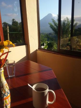 El Castillo, Costa Rica: Breakfast view!