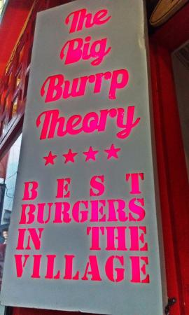 The Big Burrp Theory