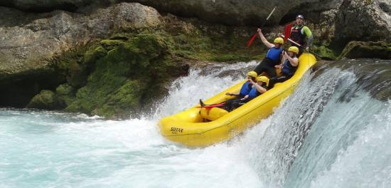 Karlovac, Croacia: Rafting_mreznica