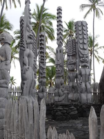 Honaunau, Hawái: Tiki group