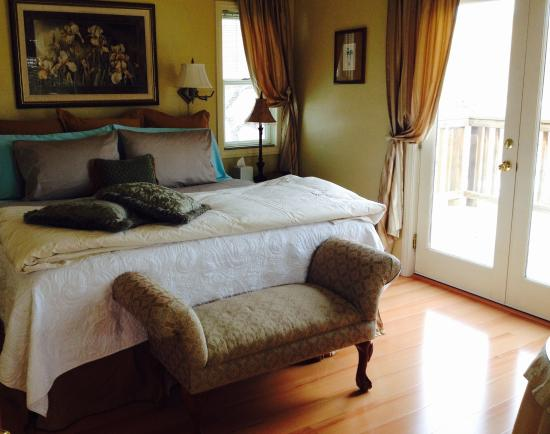 Canyons Bed and Breakfast : Garden Room