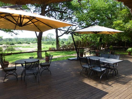 Elephant Valley Lodge: Dining Deck
