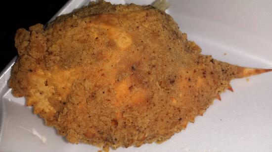 Grosse Tete, หลุยเซียน่า: Deep fried crab.... yum