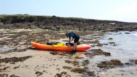 Moelan sur Mer, Frankrike: Petit arrêt vers la crique de Kerliguet
