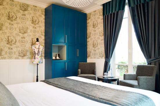 Bray-et-Lu, Francia: Chambre Bleue