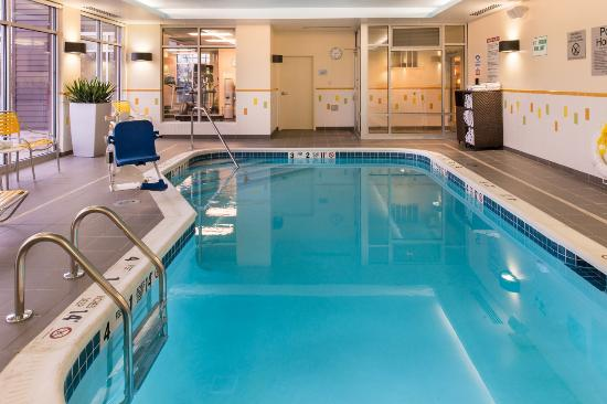 Utica, NY: Indoor heated pool is available until 11:00pm everyday