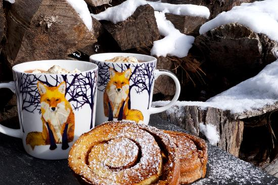 Saugerties, NY: Hot Chocolate & Cinnamon Toast