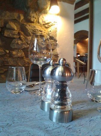 Apremont, فرنسا: Table décoration