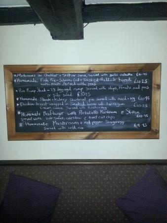 Кру, UK: Specials Board January