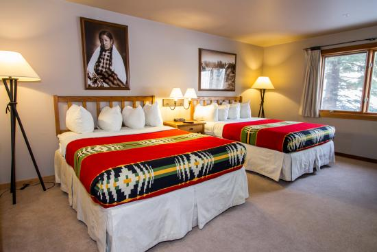 River Rock Lodge: Room with Two Queens