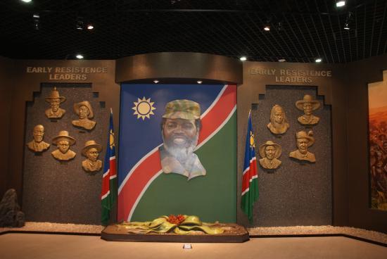 วินด์ฮุก, นามิเบีย: Inside the museum