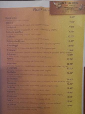 Restaurant la piazza dans troyes avec cuisine italienne for Restaurant la table de francois troyes