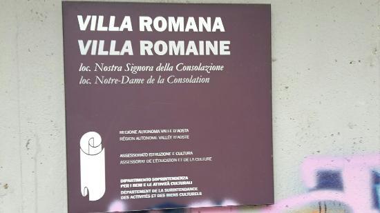 Villa Romana in Regione Nostra Signora della Consolazione