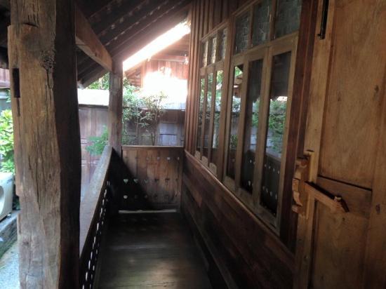 Tanita House: Terrasse