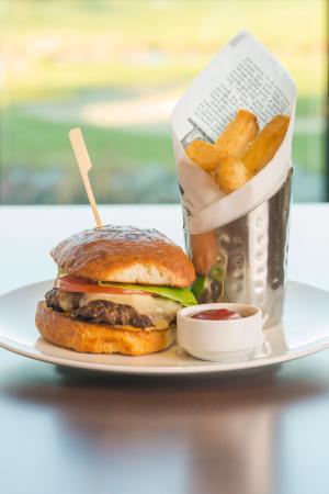 Tsawwassen, Καναδάς: Pat Quinn's Classic Burger