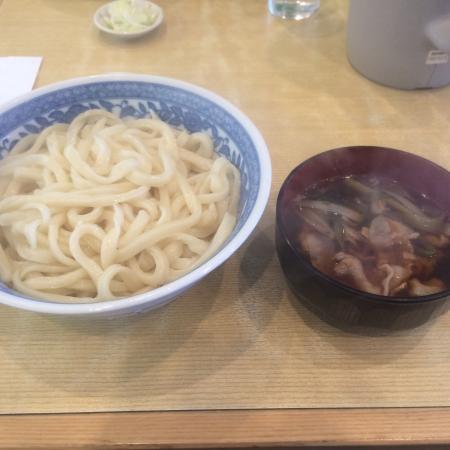 Kazo, Japón: 肉汁うどん