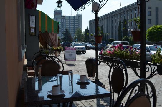 Kamianets-Podilskyi, Ucrania: Очень вкусный кофе.