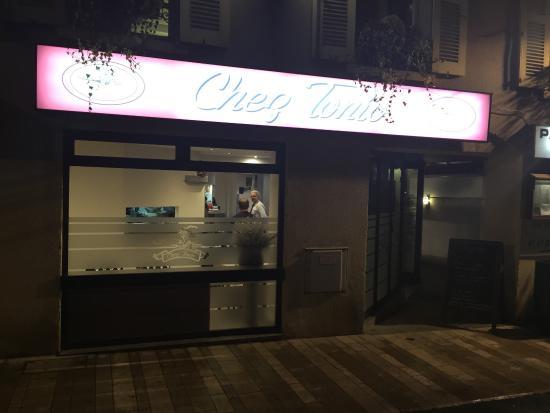 Verrieres-le-Buisson, ฝรั่งเศส: Chez Tonio