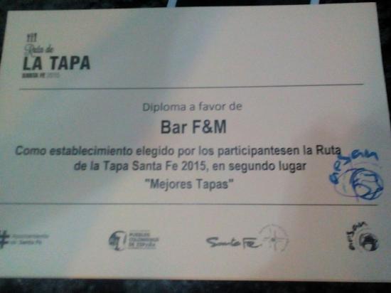 Santa Fe, Spanyol: F & M Cafe y Tapas