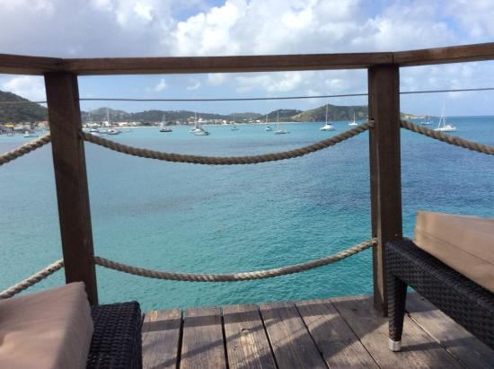 Grand Case Beach Club: From the walkway