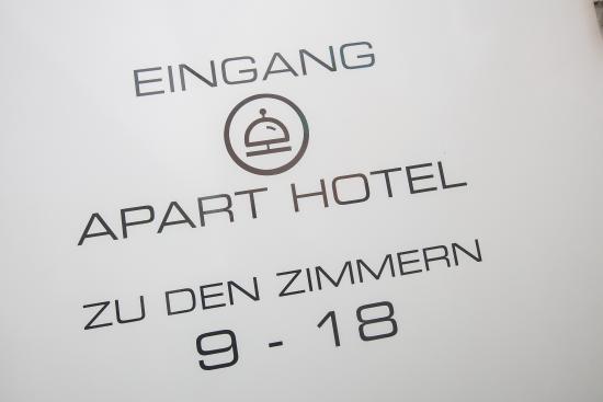 Detailaufnahme Apart Hotel Wettenberg