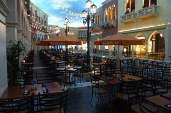At The Venetian C Side Dining