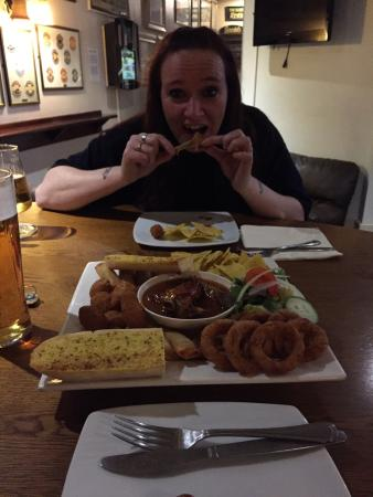 Middlewich, UK: Enjoying the Combo...seriously good food and good value for money!