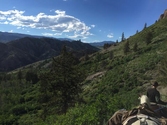 Gunnison, CO: Headed back to the trailhead