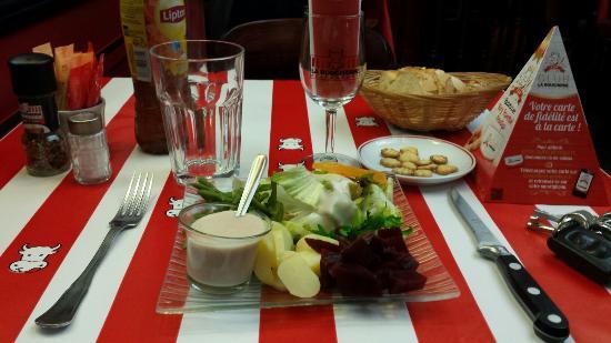 Avranches, Francia: La Boucherie Restaurant
