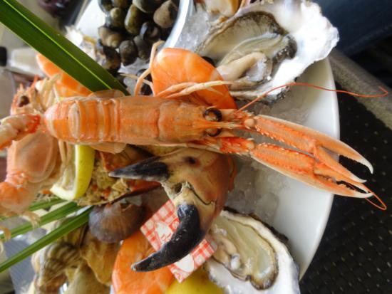 Hourtin, Prancis: La Brasserie du Port