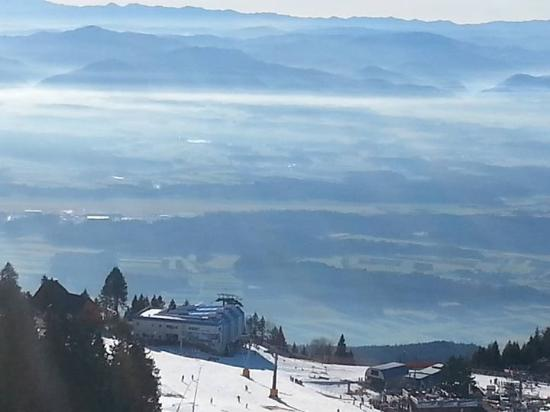 Cerklje, Slovenia: The views from the mountain at Krvavec