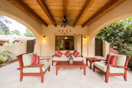 Blue Iguana Inn: Casita del Sol Open Patio