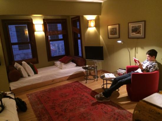 the view from my bed picture of ibrahim pasha hotel istanbul rh tripadvisor co za