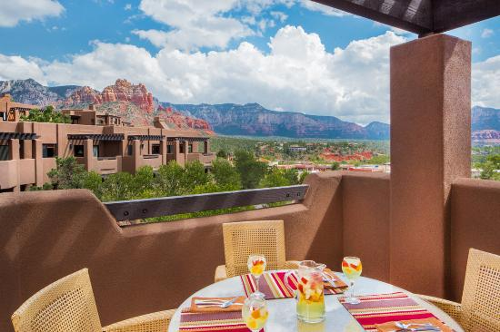 Hyatt Pinon Pointe: Enchanting views of the Sedona Red Rocks