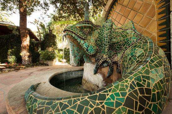 Ojai, Californie : Emerald Iguana Fountain