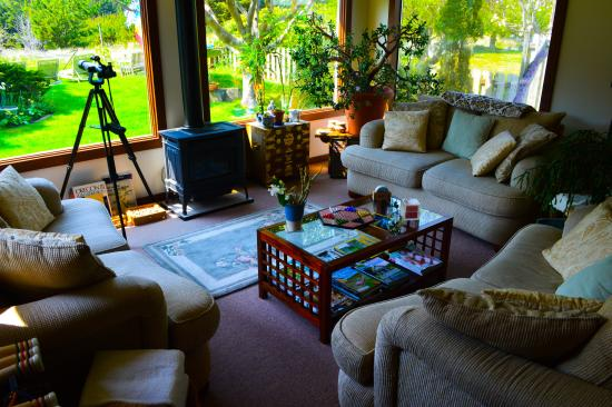 Long Beach, WA: The Boreas living room