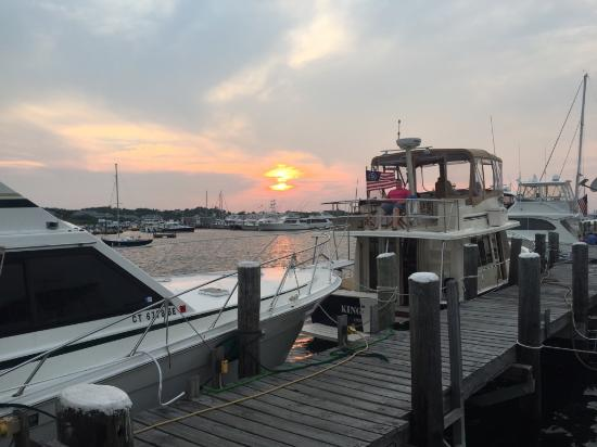 Block Island, RI: Sunset at Payne's