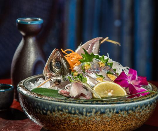 Frisco, TX: sashimi