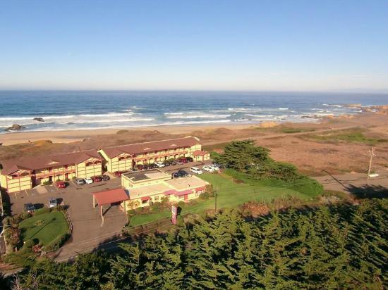 Ocean View Lodge: Aerial