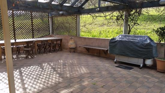 Lovedale, Australia: BBQ area