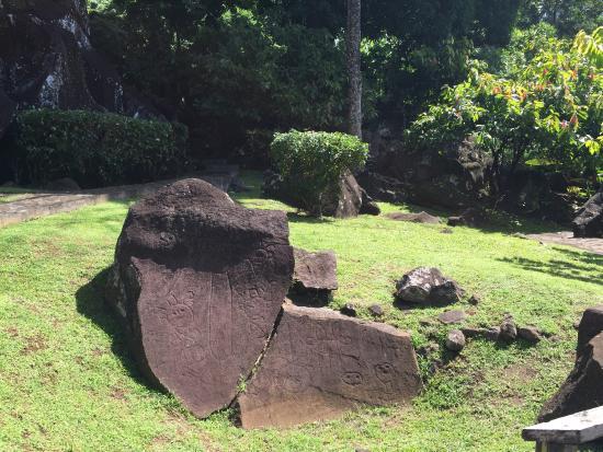 Trois Rivieres, Гваделупа: Parc Archéologique des Roches Gravées