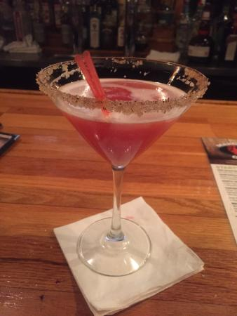 Glen, NH : Loving the amazing Margaritas here! This one is the Blood Orange & Rosemary #Amazing! As is the
