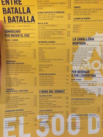 El 300 Del Born : Nice place. Affordable prices. Check out the menu: