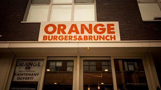 Orange Burgers & Brunch