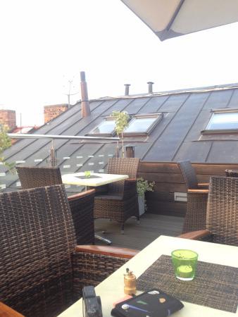 Hotel Julian: rooftob bar