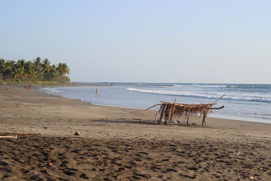 Casa Alice Surf Lodge: The nearest beach to the lodge