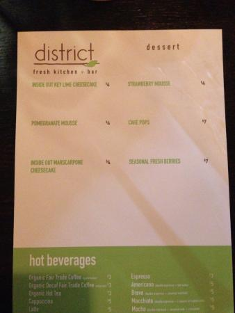 ‪District Fresh Kitchen‬