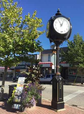Downtown Salmon Arm, shopping district.